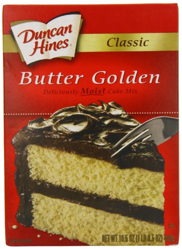 Butter cake mix recipe