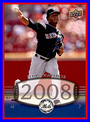 2008 Upper Deck Timeline #274 Pedro Martinez HOF MLB Network Analyst New York Mets
