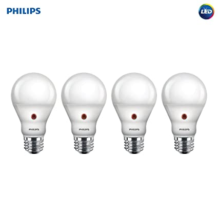 Philips 466565 60 W equivalente Blanco suave dusk-till-dawn Indoor/Outdoor A19