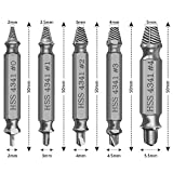 Damaged Screw Extractor Kit and Stripped Screw