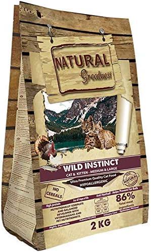 Natural Greatness Pienso seco para Gatos Receta Wild Instinct ...
