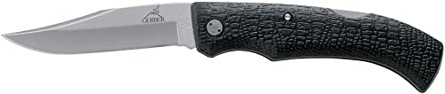 Gerber Gatormate Folding Knife, Fine Edge, Clip Point 06149