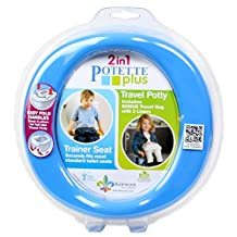 Potette Plus Travel Potty, Blue