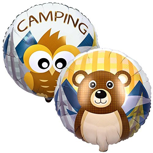 - Cti Industries Corporation Let's Go Camping Foil Balloon