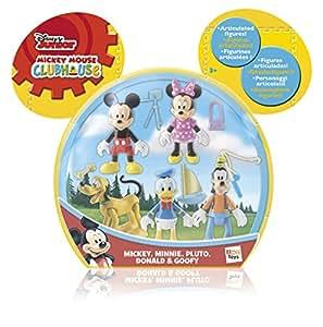 IMC Toys - Pack 5 Figuras Mickey (181861)