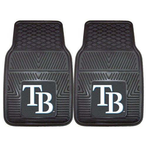 FANMATS MLB Tampa Bay Rays Vinyl Heavy Duty Car - D Bay Rays