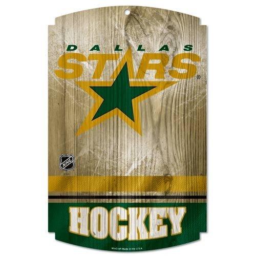 (Wincraft NHL Dallas Stars Sports Fan Home Decor, Team Color, 11x17)