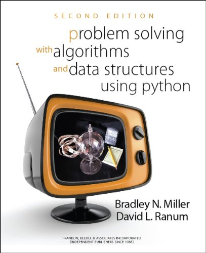 Book cover of Problem Solving with Algorithms and Data Structures Using Python SECOND EDITION by Bradley N. Miller