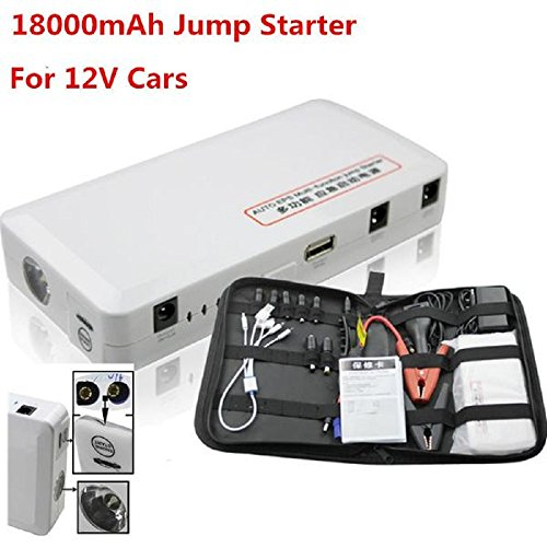 Price comparison product image 2017 Car Jump Starter 18000mAh Auto Engine EPS Emergency Charger Battery Source Laptop Portable Charging Mobile Power Banks