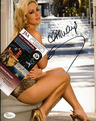KAYDEN KROSS JSA Coa Hand Signed 8x10 AVN Photo Autograph Authentic (The Best Of Kayden Kross)
