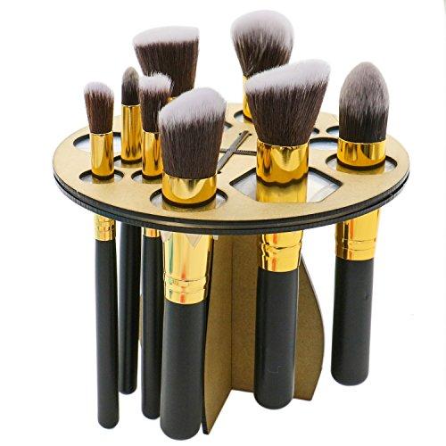Rugjut Heart Shape Makeup Brush Cleaning Mat Brush Egg and 1