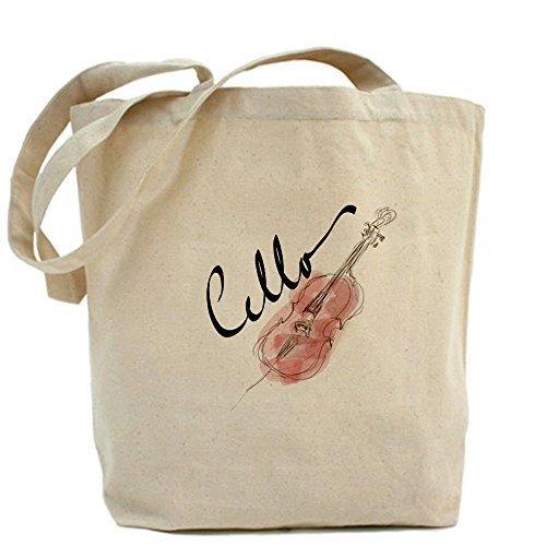 CafePress único diseño gráfico para violonchelo bolsa–estándar Multi-color por CafePress