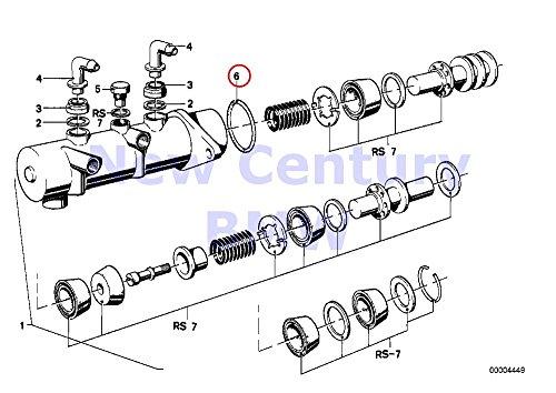 - BMW Genuine Brake Master Cylinder O-Ring Ate 1602 2002 2002tii 528i 530i 320i 630CSi 633CSi 528e 2500 2800 2800Bav 3.0S 3.0SBav 3.0Si 318i 325e 325i 325ix M3 2800CS 3.0CS 2000
