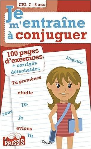 Amazon Fr Je M Entraine A Conjuguer Ce1 7 8 Ans Kreutz Georges Livres
