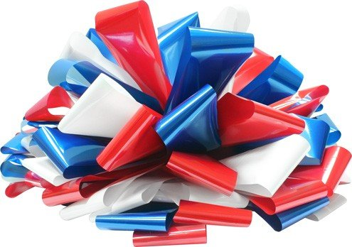 30 Inch Patriotic Red/White/Blue Magnetic Bow