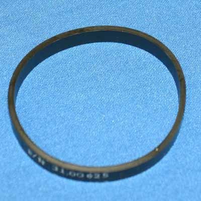 (Bissell Hot Shot & PowerSteamer 1698 Flat Pump Belt / 2 pack - Genuine (OEM 2150628) )