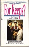 For Keeps?, Carol Stanley, 0380754428