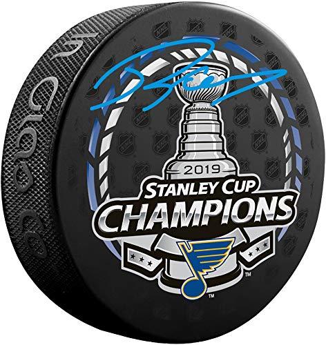 Robert Thomas St. Louis Blues 2019 Stanley Cup Champions Autographed Stanley Cup Champions Logo Hockey Puck - Fanatics Authentic Certified (Autographed Stanley Cup Hockey Puck)