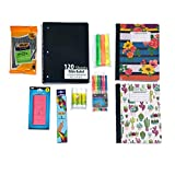 9 Piece School Supply Bundle for Middle School Students