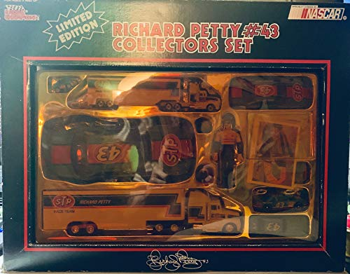 STP #43 Richard Petty Race Team Nascar Winston Cup Racing Collectors Set From Racing Champions 1991 ()