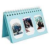 Woodmin 60 Pockets Calendar Photo Album for Fujifilm Instax Mini...
