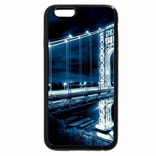 iPhone 6S / iPhone 6 Case (Black) George Washington Bridge