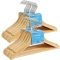 SONGMICS 20-Pack Solid Wood Children