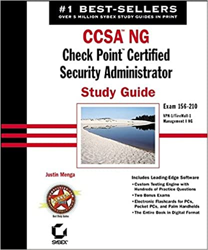 CCSA NG: Check Point Certified Security Administrator Study Guide ...