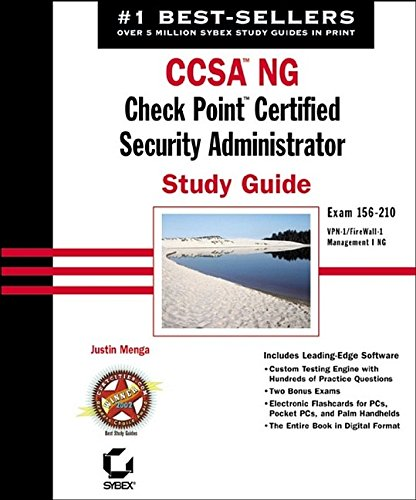 CCSA NG: Check Point Certified Security Administrator Study ()