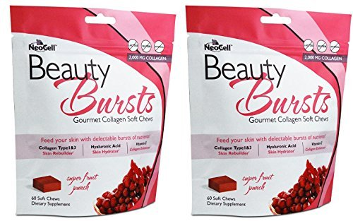 Neocell Beauty Burst Fruit Punch 60 chew by Neocell