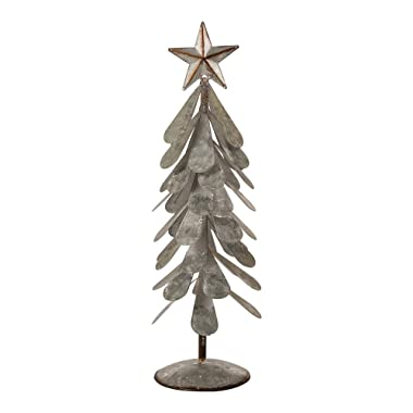 Glitzhome 1114004057 Iron Christmas Tree 18  H Xmas
