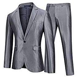 Men's One Button Formal Slim Fit Suits