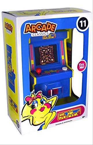 Arcade Classics Mini Ms Pac-Man Arcade Style ()