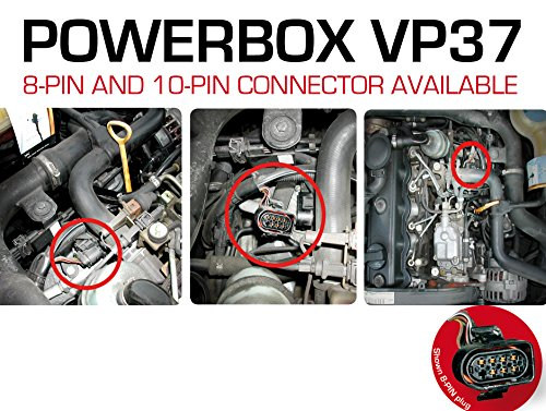 PowerBox VP37 Diesel Chiptuning Performance Module Tuningchip for Seat Cordoba 1.9 SDI 47 KW / 64 PS / 174 NM - more power less fuel