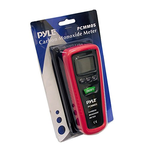 Hand Held Carbon Monoxide Meter - High Accuracy and 1000 PPM Measurement Range CO Sensor w/Digital LCD Display Auto Power Off Safety Alarm Battery Operated and Control Buttons - Pyle PCMM05 by Pyle (Image #4)