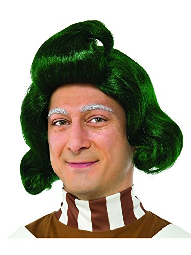 Oompa Loompa Wig (Rubie's Costume Co. Men's Willy Wonka and The Chocolate Factory Oompa Loompa Wig, As Shown, One Size)