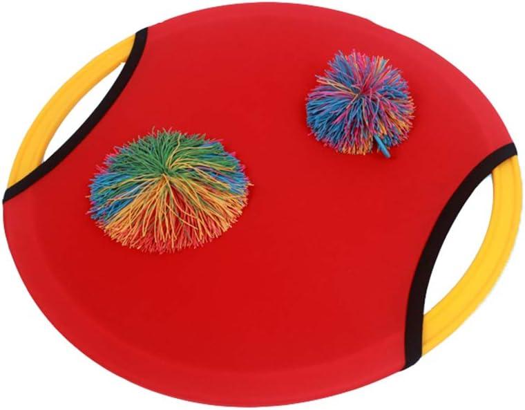 CHENG Pista De Paddle Bola del Juguete, Mesa De Ping Pong Formación Sensorial, El Anillo Elástico Elástico De La Bola Lanzar Y Atrapar La Bola Adecuado para Deportes Al Aire Libre Juguetes