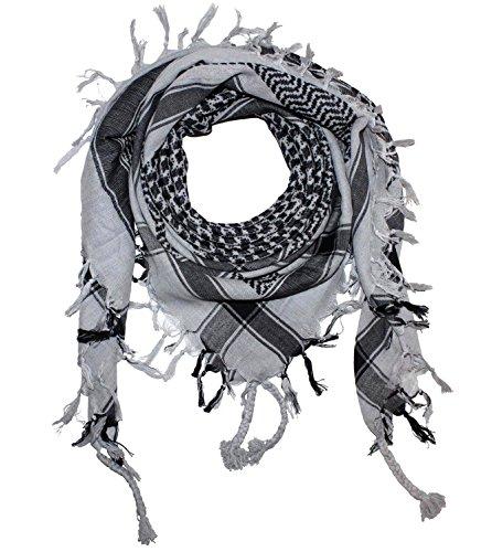 Blanc noir 20 Foulard Alex Keffieh Designs Couleurs Palestinien En Flittner 87AHv
