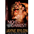 Night is Darkest: An MMF Bisexual Romance (Men in Blue Book 1)