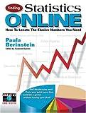 Finding Statistics Online, Paula Berinstein, 0910965250