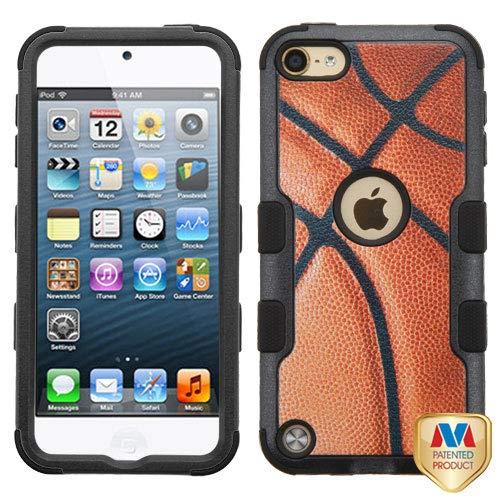 MYBAT Basketball-Sports Collection/Black TUFF Hybrid Phone Protector Cover for APPLE iPod touch (5th generation) APPLE iPod touch (6th generation)