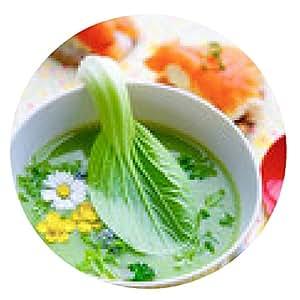 alfombrilla de ratón la sopa de hierbas - ronda - 20cm