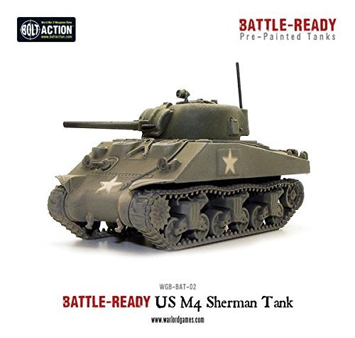 (Bolt Action Sherman Battle Ready Tank, model)