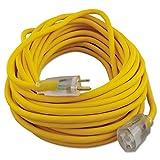 CCI 01488 Polar/solar Outdoor Extension Cord, 50ft, Yellow