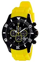Ice-Watch Chronograph Yellow Polycarbonate Mens Watch ECHBYBS10 from Ice