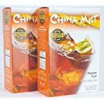 China Mist Iced Tea Brew at Home Iced Tea, Passion Fruit, 2 Ounce Packages (Pack of 2) 5 Includes 2 Boxes China Mist Passion Fruit Iced Tea Each box contains 4 filters bags (a total of 8 bags) Each filter bag makes 1/2 gallon of tea