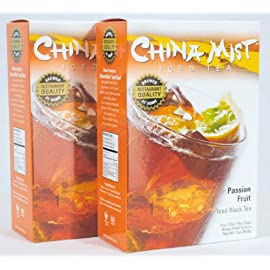 China Mist Iced Tea Brew at Home Iced Tea, Passion Fruit, 2 Ounce Packages (Pack of 2) 7 Includes 2 Boxes China Mist Passion Fruit Iced Tea Each box contains 4 filters bags (a total of 8 bags) Each filter bag makes 1/2 gallon of tea