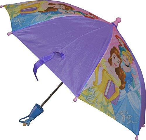 Princess Umbrella (Disney Girls Princess Umbrella With 3D Handle Purple)