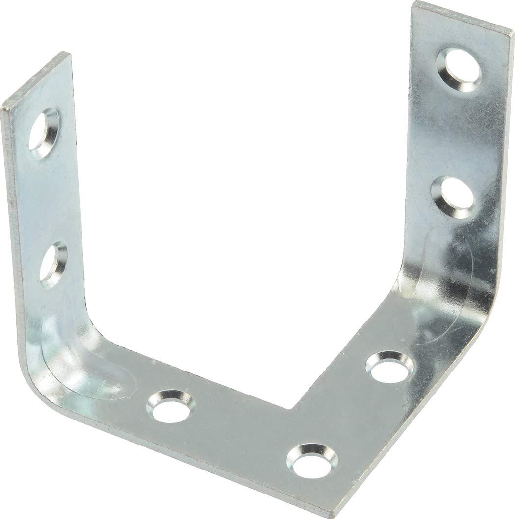 Hillman Hardware Essentials 853464 Triple Surface Corner Brace Zinc Plated 2 2 pack