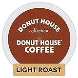 Donut House Collection Donut House Coffee, Single Serve Coffee K-Cup Pod, Light Roast, 72